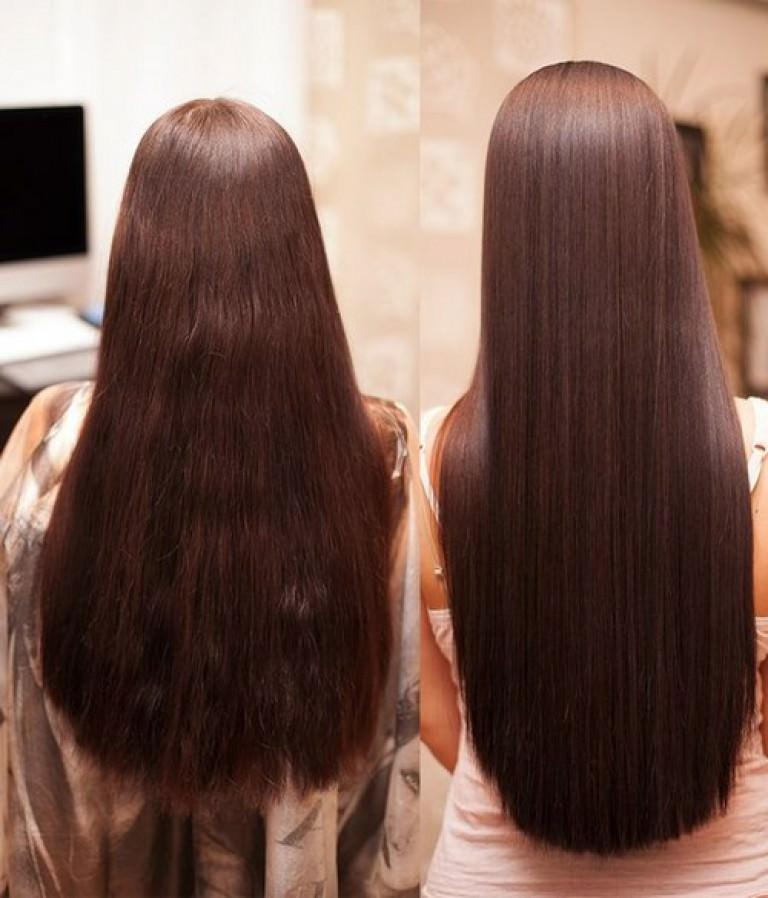 Кератиновое выпрямление волос: выравнивание и лечение