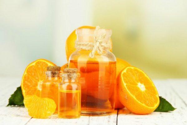 Апельсиновое масло для лица и волос