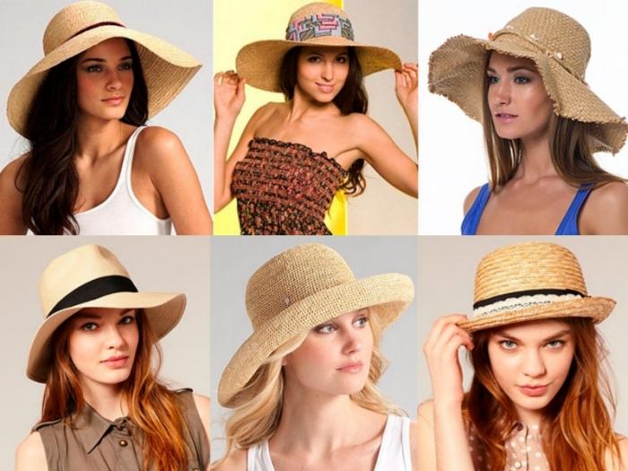 Как выбрать шляпу на пляж