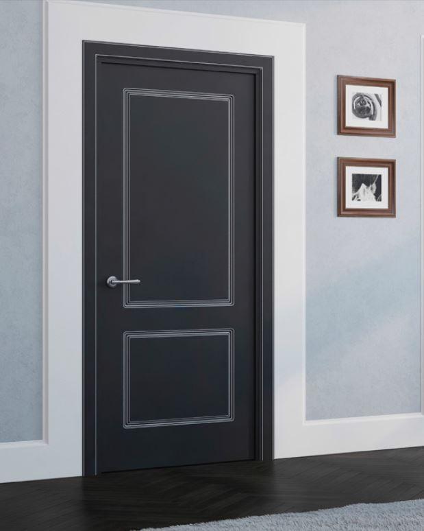 Финишная отделка межкомнатных дверей